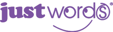 Just Words logo