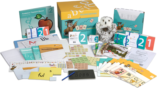 Fundations Level 2 Teacher's Kit