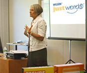 Just Words Workshop presenter