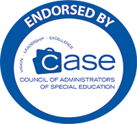 Logo endorsed by Case