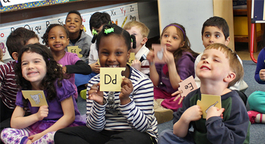 Wilson announces the launch of the Fundations Pre-K Activity Set.