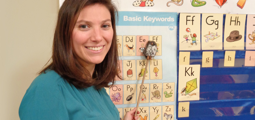 The Tobin School in Natick, MA, incorporated the new Fundations Pre-K Activity Set into its pre-k and junior kindergarten classes.