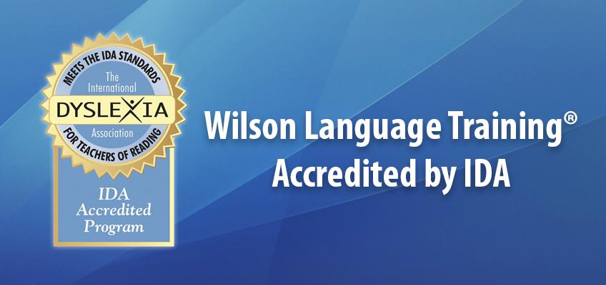 Wilson Language Training Accredited by IDA