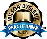 Wilson Dyslexia Practitioner (W.D.P.) logo