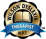 Wilson Dyslexia Therapist (W.D.T.) logo