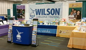 Wilson Language Training exhibit booth