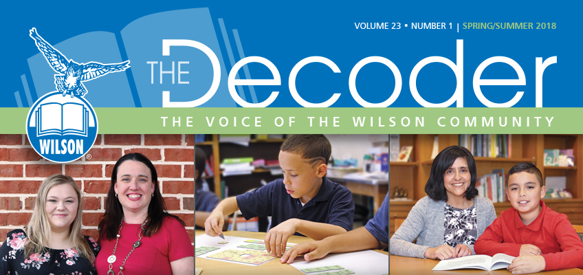 Wilson's spring/summer newsletter, The Decoder