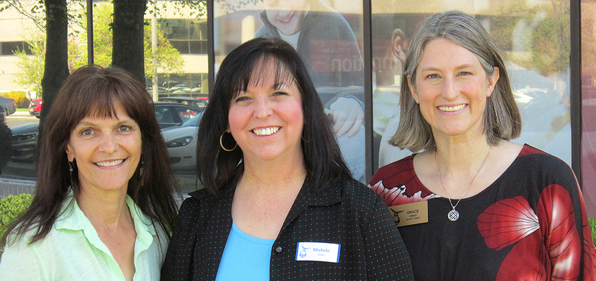 A trio of educators at the University of Utah Reading Clinic