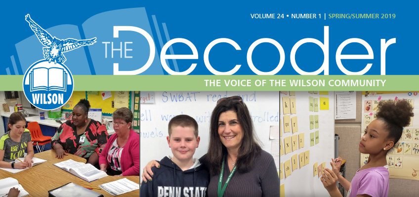 ilson's spring/summer newsletter, The Decoder