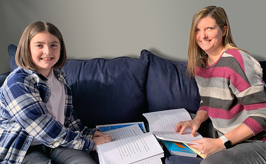 Student and tutor learning at home