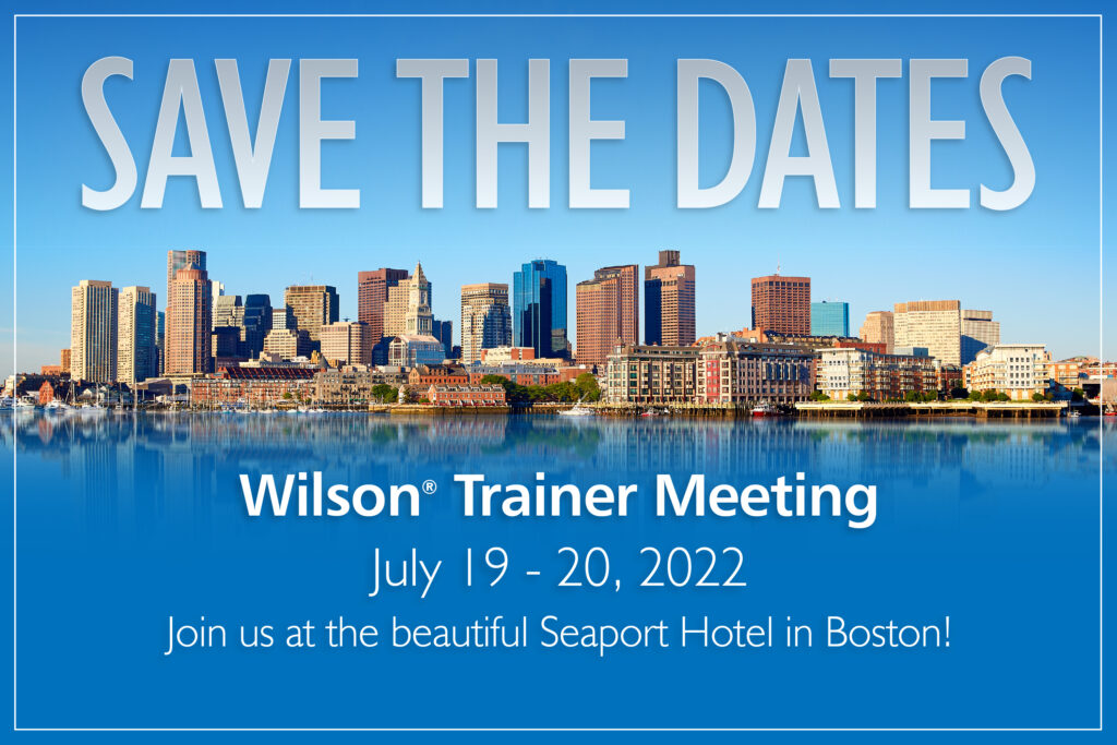 Save the Date for Wilson Summer Conferences on July 18-21, 2022 at the Seaport Hotel in Boston or online